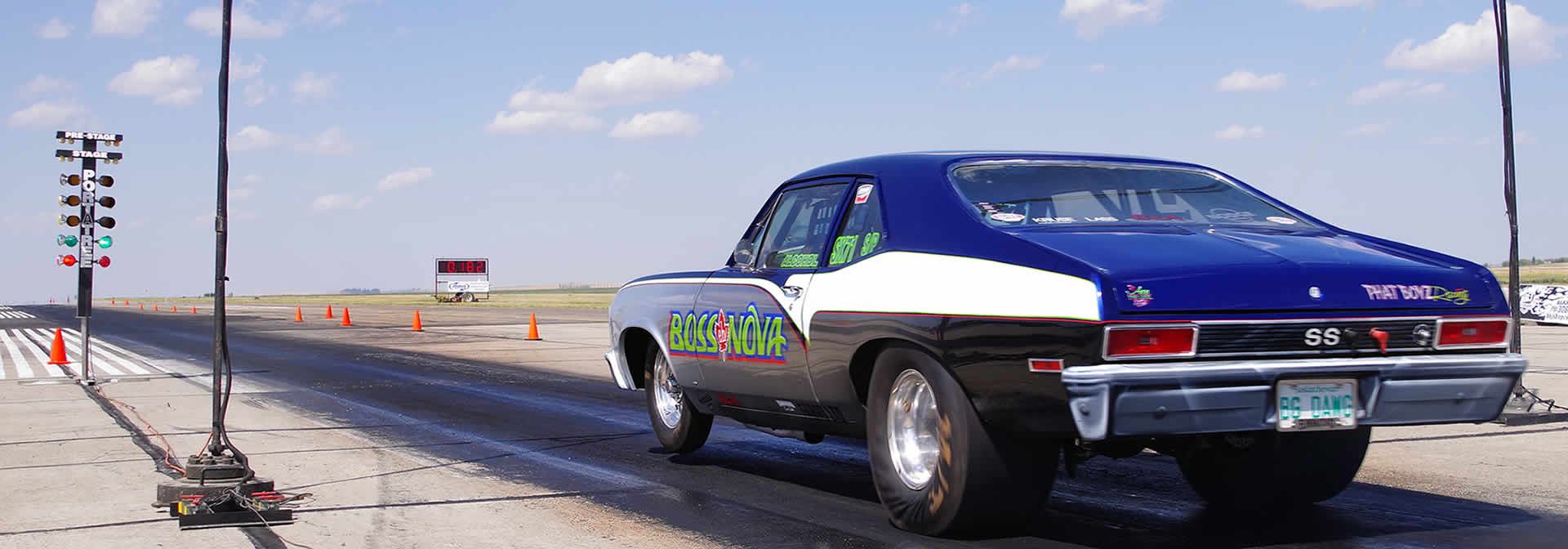 Drag Racing at the Swift Current Airport