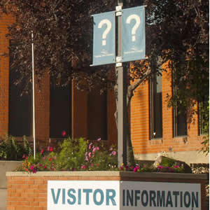 Visitor Services - Where to get information
